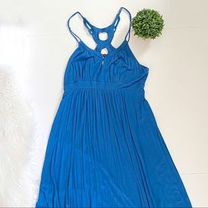 Ella Moss Blue Tank Top Dress